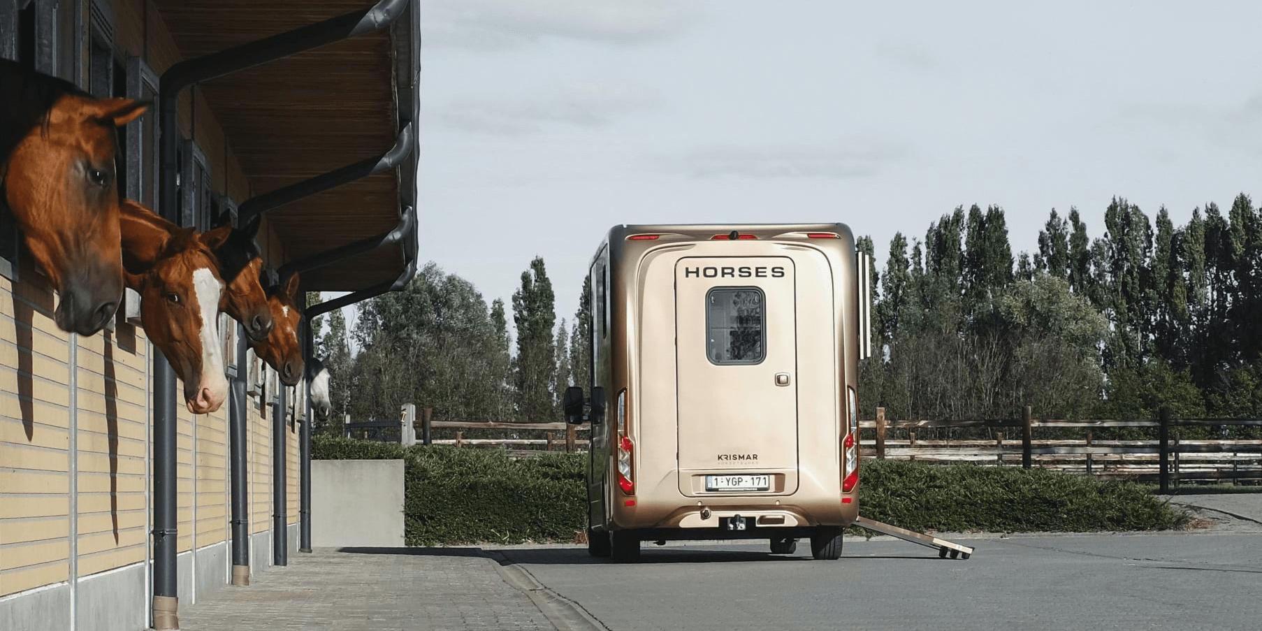 Sfeerbeeld Krismar Horse Trucks | Exclusieve horse trucks en motorhomes