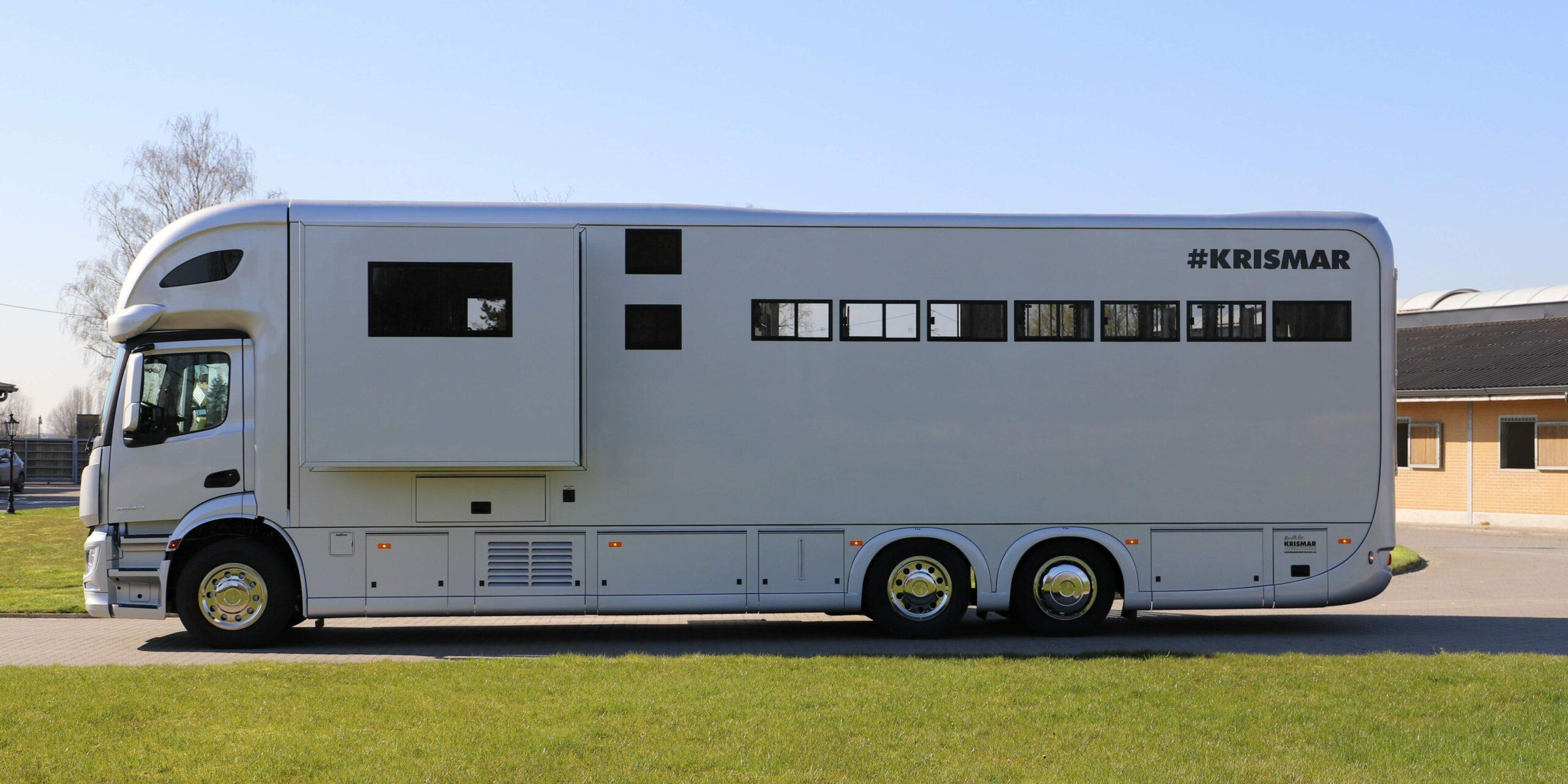 Krismar paardenvrachtwagen professional voor 5 paarden