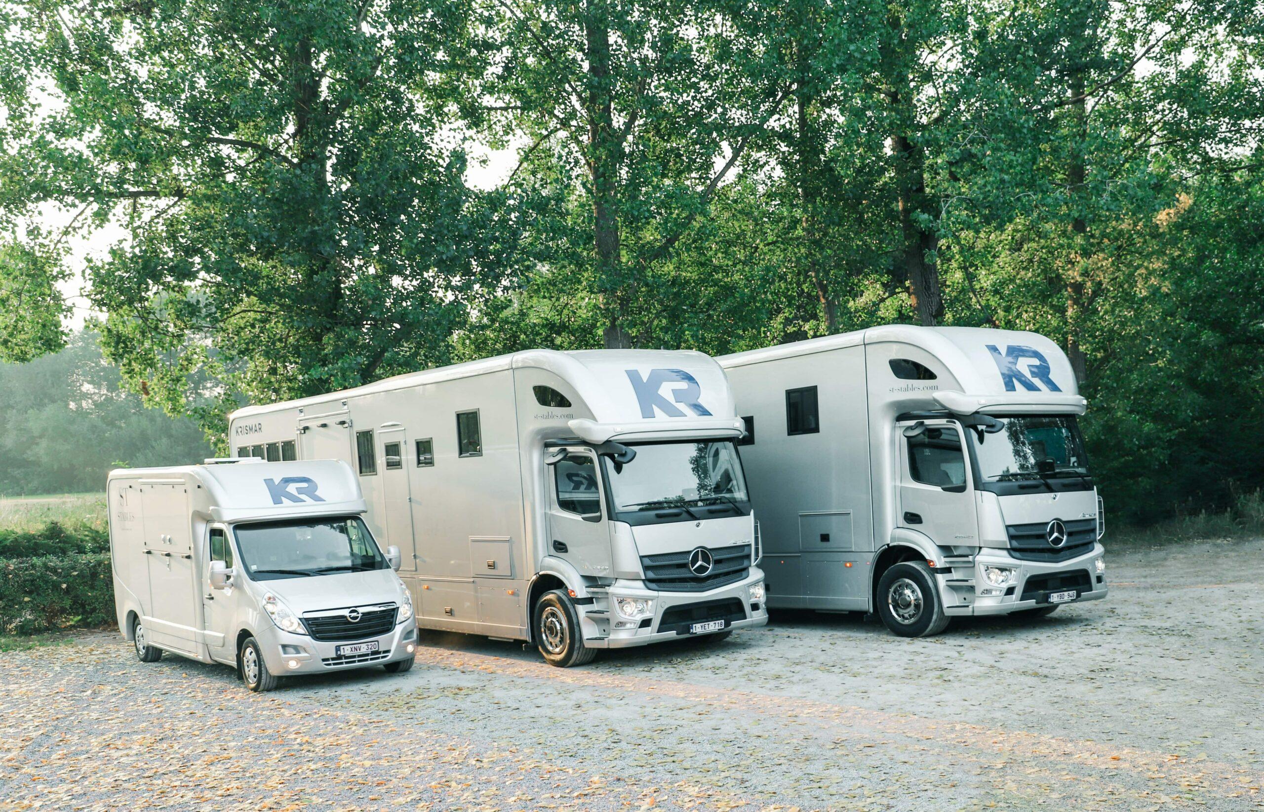 Krismar horse trucks for ST Stables