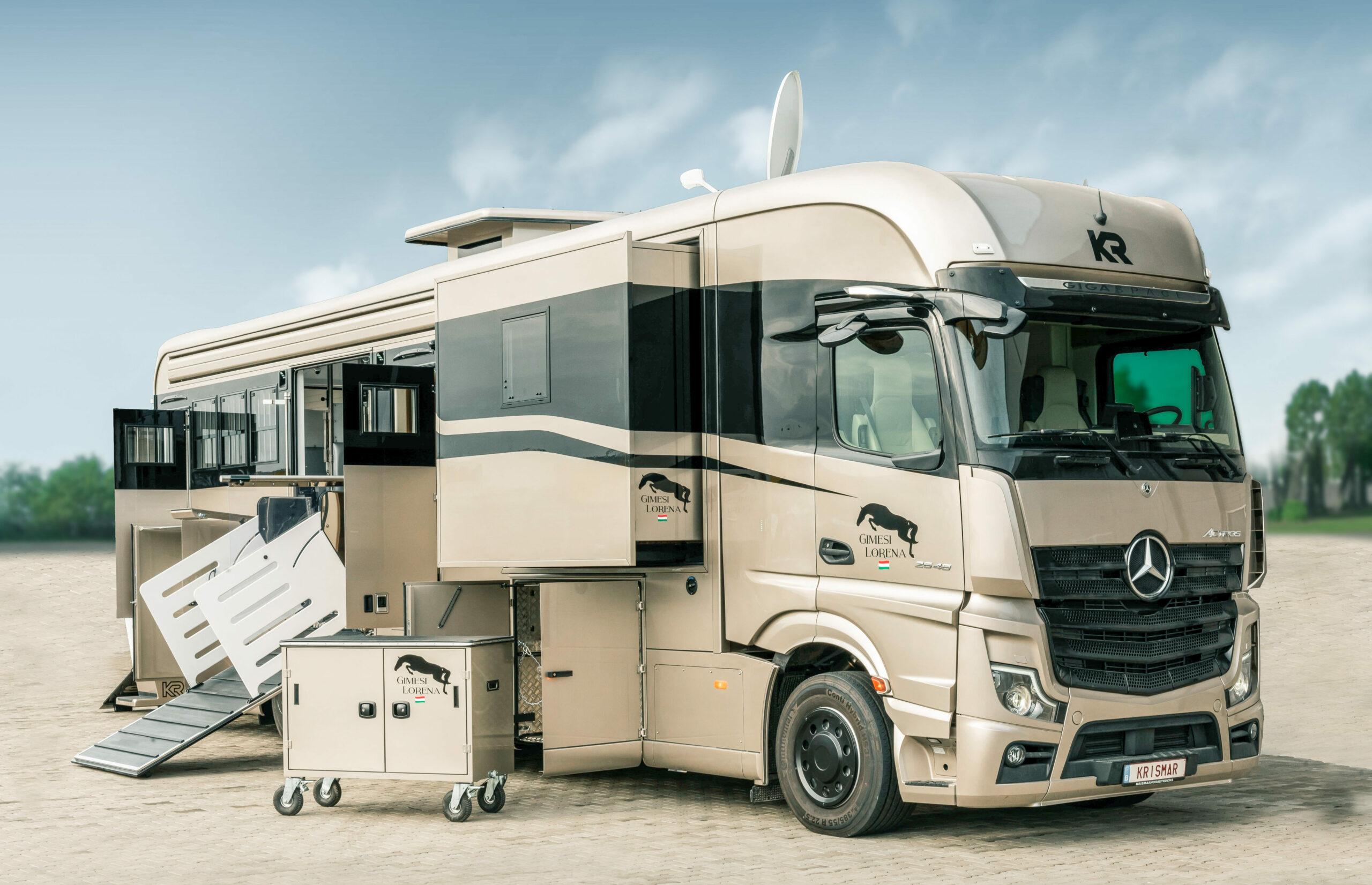 Krismar horse truck exclusieve reeks