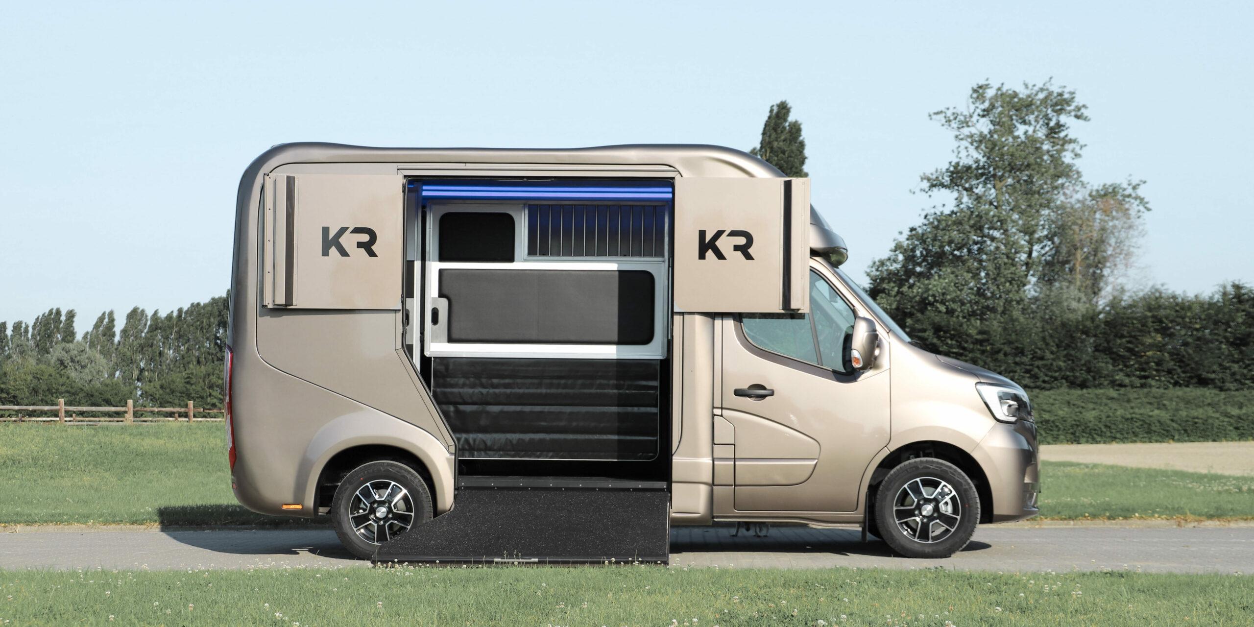 Krismar 2 paard horse truck